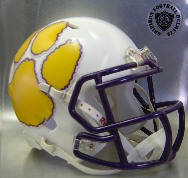 Carrizo Springs Wildcats HS 2016 (TX) (mini-helmet)