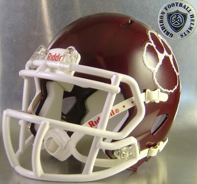 Cypress Fairbanks High School Bobcats 2006-2017 (TX) 2017 State Champs (mini-helmet)