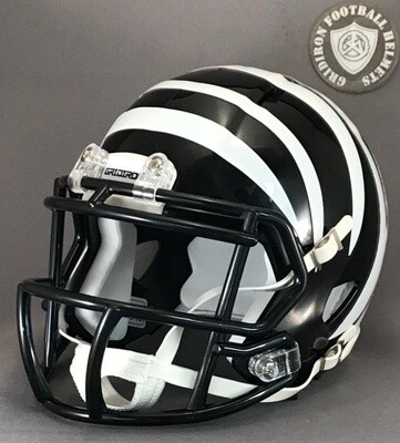 Grandview Zebras HS 2008 to 2010 (TX) (mini-helmet)