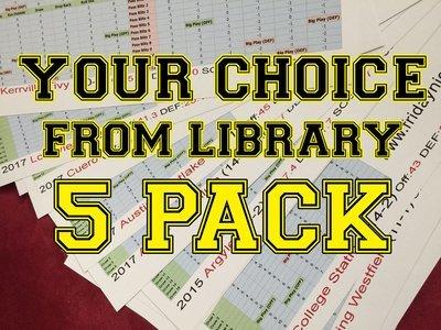Custom 5-pack (Library)