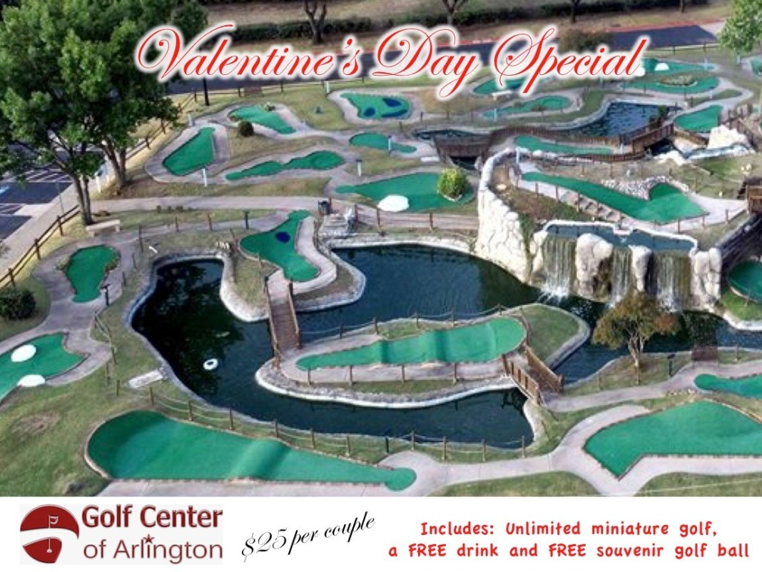 Valentine's Special - Miniature golf for two