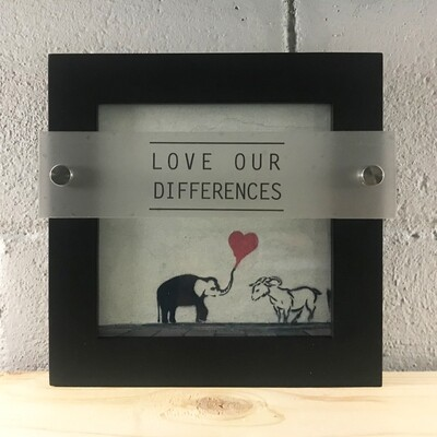 | love our differences | dimensional |