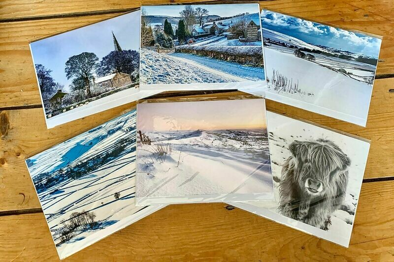 Peak District Seasonal Greeting Card Bundle [Free UK Delivery]