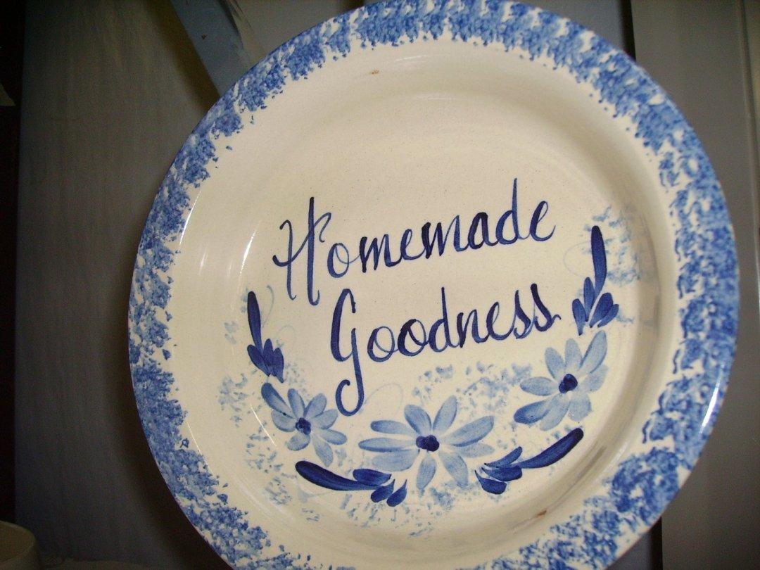 Homemade Goodness Pie Plate