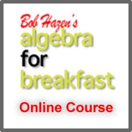 AlgebraForBreakfast Online Courses