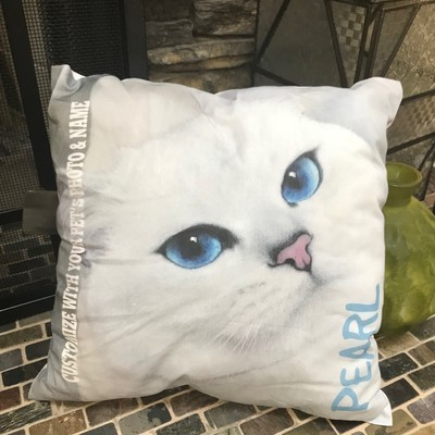 Kitty Photo Pillow