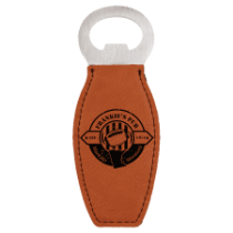 Leatherette Magnetic Bottle Opener