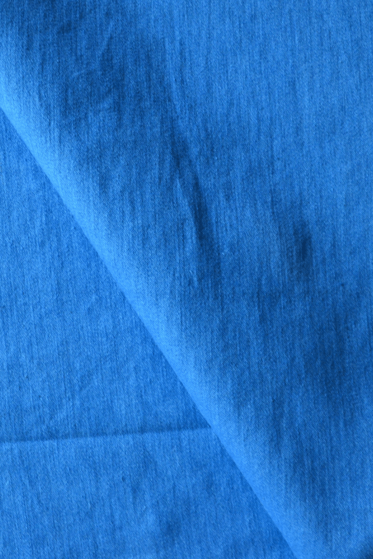 9.5 Oz Super Stretch Cotton Denim in Light Blue 00126