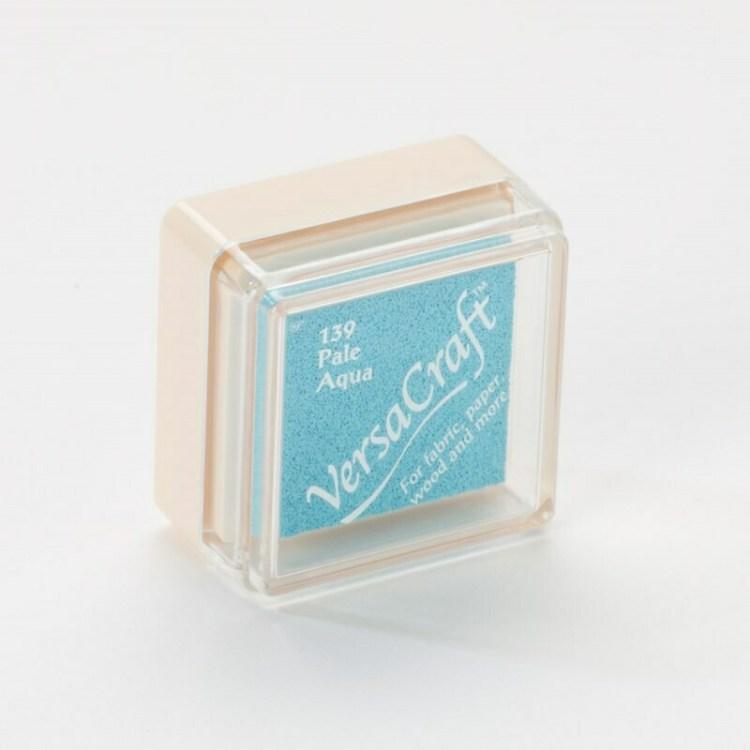 Encreur VersaCraft spécial tissu - Pale Aqua