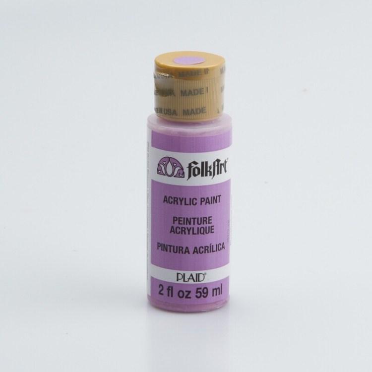 Peinture acrylique mat FolkArt Plaid 59 ml - Orchid Blossom