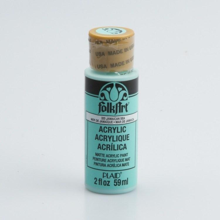Peinture acrylique mat FolkArt Plaid 59 ml - Jamaican Sea