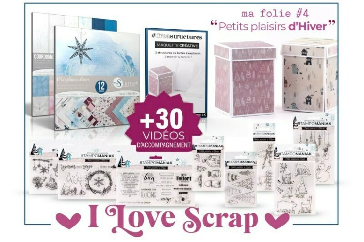 Kit I love Scrap Petits Plaisirs d'Hiver