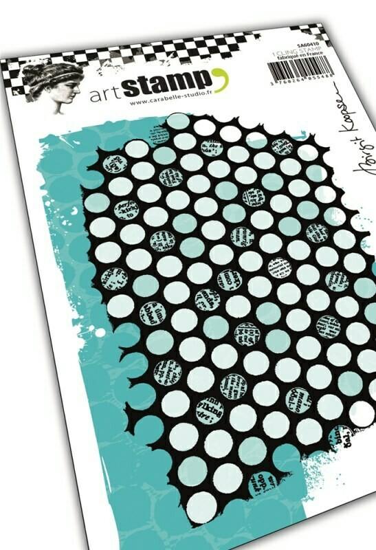 Set de tampons cling A6 - Punchanella #2 by Birgit Koopsen - 10x15cm