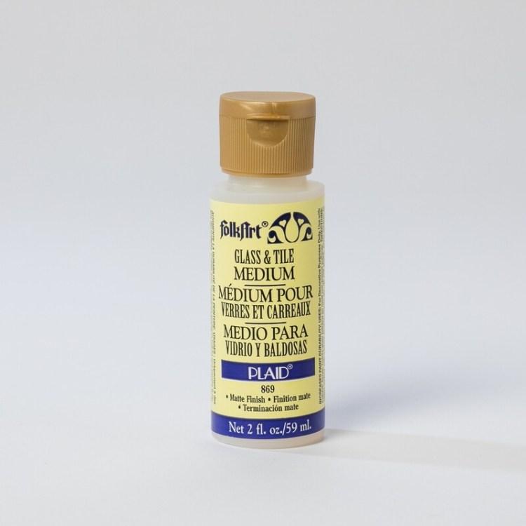 Medium pour verre et carreaux FolkArt Plaid 59 ml