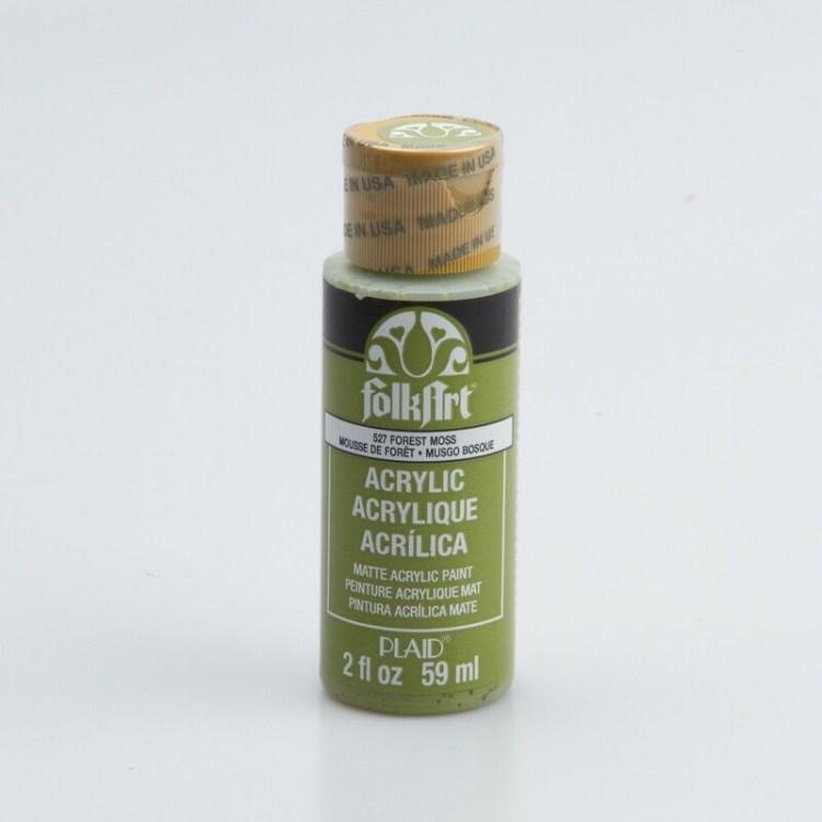 Peinture acrylique mat FolkArt Plaid 59 ml - Forest Moss