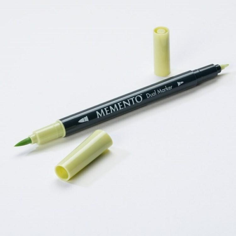 Feutre aquarelle double pointe Dual Marker Memento - new sprout
