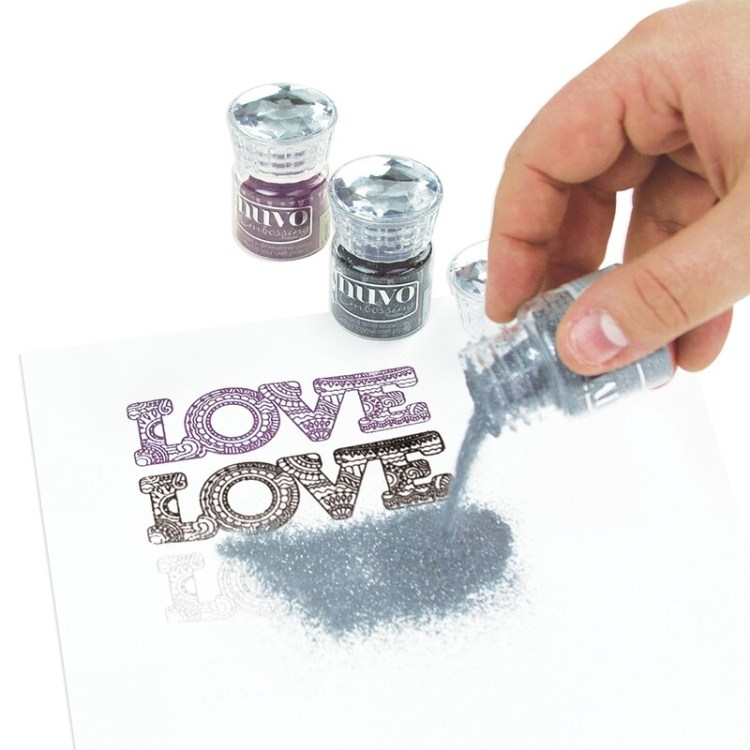 Nuvo - Glitter Embossing Powder - Shimmering Pearl - 599n