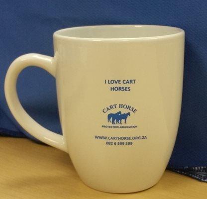 Cart Horse Coffee Mug 0008