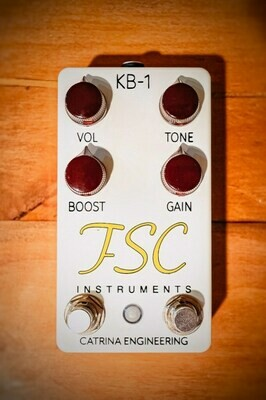 KB-1 Overdrive+ Pedal (Pre-order, ships in Feb 2020)
