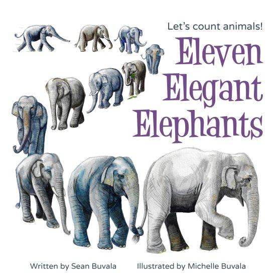 Eleven Elegant Elephants BKElevenElephants