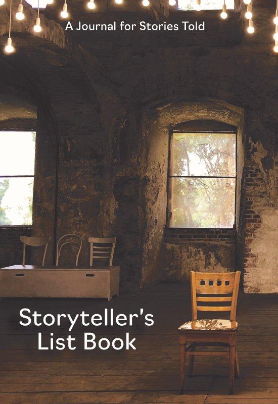 The Storyteller's List Book ( Journal) BookStorytellerlist