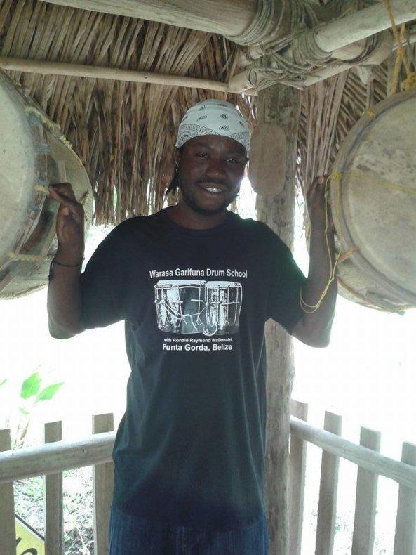 Warasa Garifuna Drums Tshirt (Available in 5 colors)