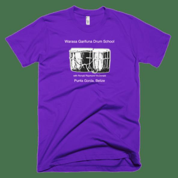 Warasa Garifuna Drums Tshirt (Available in 5 colors) 00001