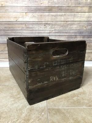 Vintage Apple Crate, Vintage Fruit Box