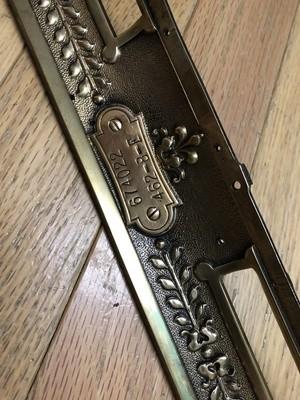 Vintage Metal Decor, Antique Brass Cash Register Parts