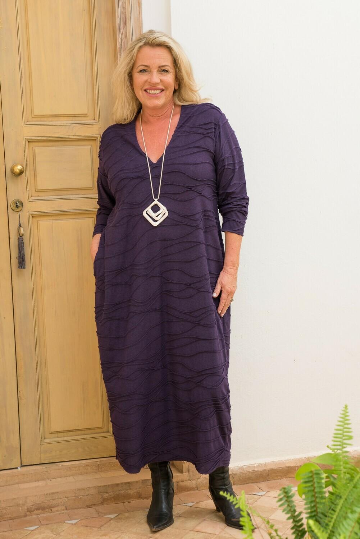 Rowena - Textured Jersey Bubble dress