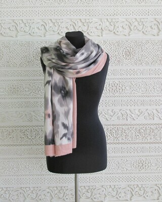 Shanya - Cashmere Blend  Printed Wrap