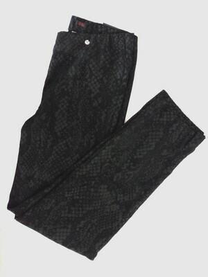 Robell Marie - Black snake print trousers