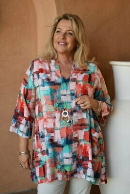 Timaya - Kaftan tunic with pockets