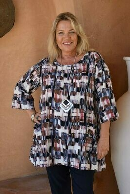 Teshi - A-line tunic with two pockets