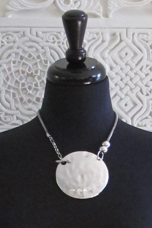 Nina - Silver Necklace