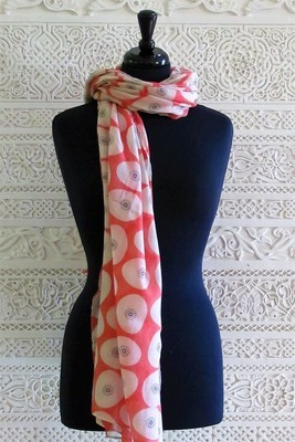 Siena Soft Red - Scarf
