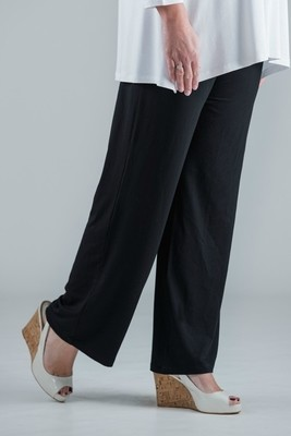 Paige - Black Jersey Trousers