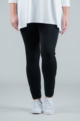 Pritti - Soft Jersey black Leggings