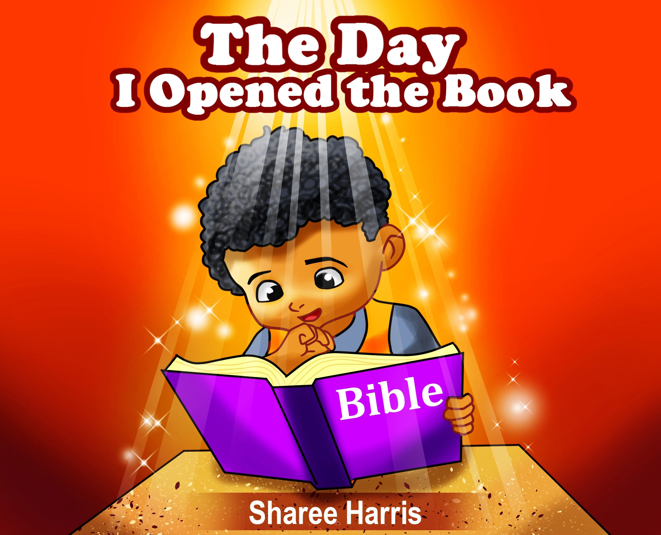 The Day I Opened the Book by Sharee Harris 978-1682734797