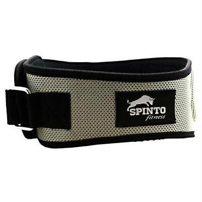 Spinto USA, LLC Foam Core Lifting Belt Silver