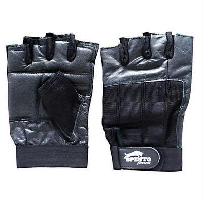 Spinto USA, LLC Men's Workout Gloves Black (LG)