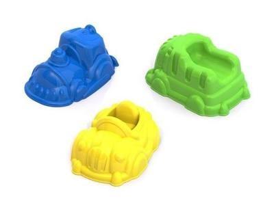 Формочки для песка Машинки Нордпласт 431700