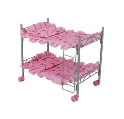 Кроватка для кукол двухэтажная Buggy Boom 8887 Melobo