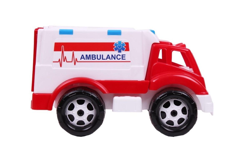 Машинка фургон Скорая помощь игрушка ТехноК 4579