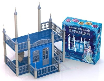 Замок кукольный Снежная Королева Нордпласт 593