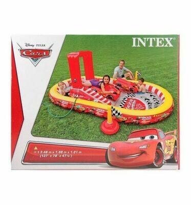 Надувной водный детский игровой центр Тачки INTEX 57134
