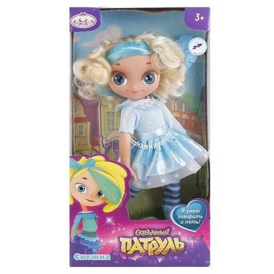 Функциональная кукла Снежка  Сказочный Патруль Карапуз SP0117-S-RU