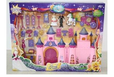 Замок для кукол свет, звук, мебель My dream SG-2956
