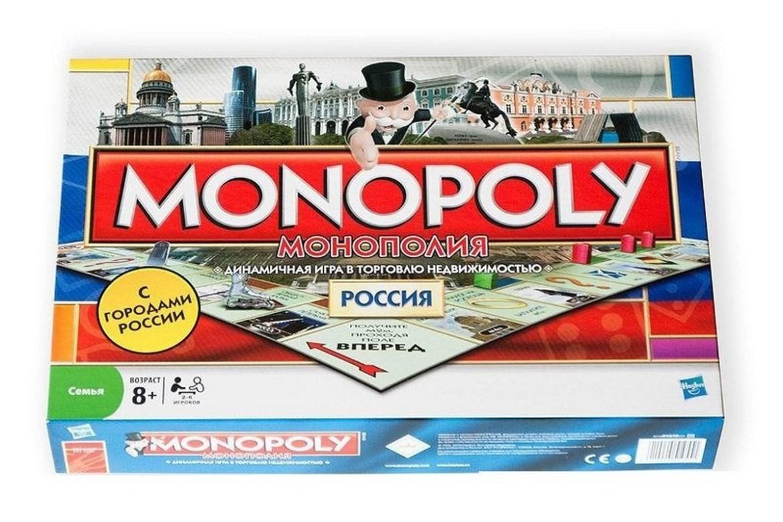 Игра настольная Монополия Россия 6155 6155