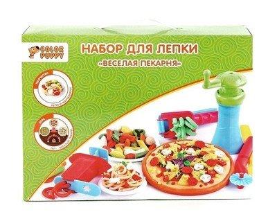 Набор для лепки Color Puppy Веселая пекарня Color Puppy 631027